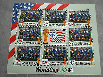 BF Neuf St Vincent et Grenadines WC Football USA 1994 : Equipe des USA