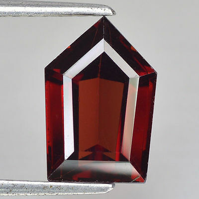 4.600Cts Wow! Rare Pyramid Fancy Pyrope / Almandine Red Natural Garnet Gemstones