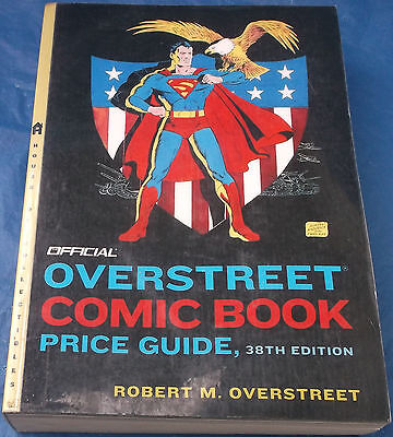 Official Robert M. Overstreet Comic Book Price Guide 38th Edition Book 2008