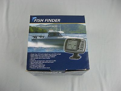 NEW Boat Fish Finder 16 level grey scale