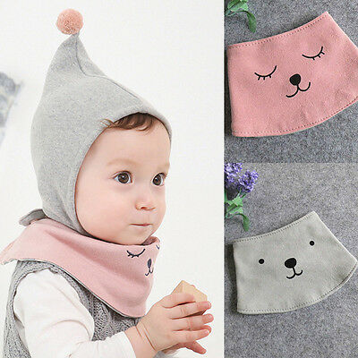 Newborn Toddler Infant Baby Boys Girls Kids Bibs Waterproof Saliva Cartoon Towel