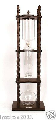 Ice Drip Coffee Brewer, Dutch Coffee Maker, Ice/Cold Coffee Dripper Glass