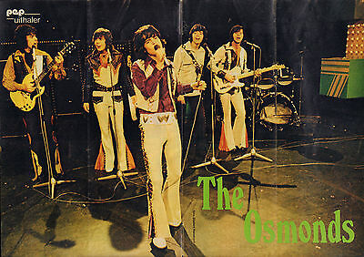 Poster The Osmonds 1973 (Photo Gijsbert Hanekroot)