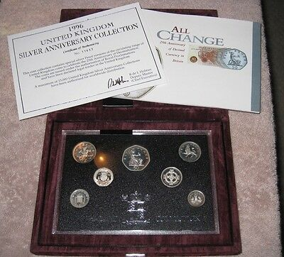 1996 UK Silver Anniversary Collection