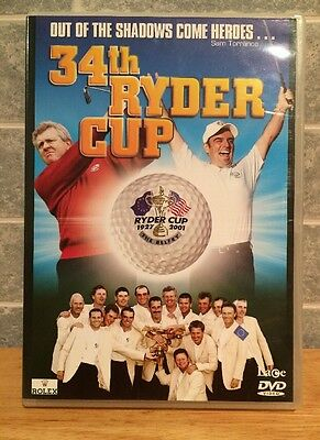 34th Ryder Cup Golf DVD - 2002 The Belfry.