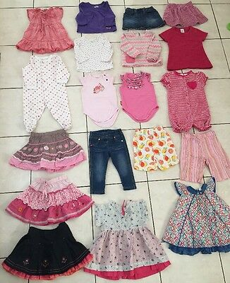 Bulk Lot Of Size 0 (6-12months) Clothing X 19 Pieces
