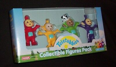 Teletubbies NIP Collectible 4 Figures Pack Playskool characters PO Dipsy Tinky
