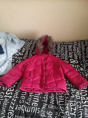 Pink Coat Age 2-3 Years