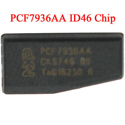 PCF7936AA ID46 Transponder Chip Programming Copy Replace Car Key Chip