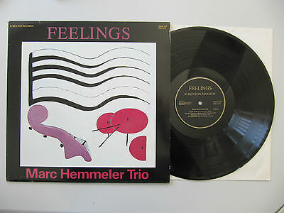 MARC HEMMELER Trio - Feelings Vinyl LP 1982 - Pexton Records PEB 2001 1st. Swiss