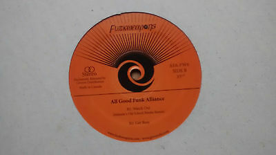 All Good Funk Alliance ‎– Watch Out : Funk Weapons Breaks Beats