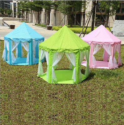 Portable Princess Castle Play Tent Children Activity Fairy House Kids Funny Gift