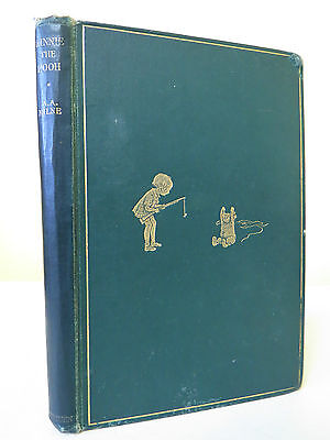 WINNIE THE POOH by A A Milne 1926 Illustrated Ernest Shephard 1st Edition RARE