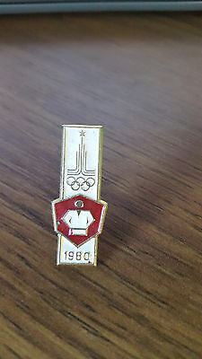 Olympic Games 1980 USSR Pin Badge