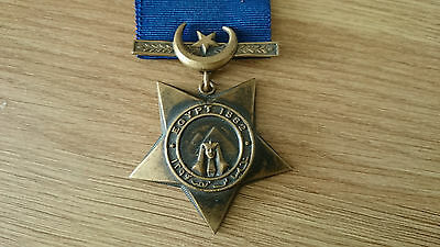Khedive's Egypt Star 1882 British Army Campaign Medal.