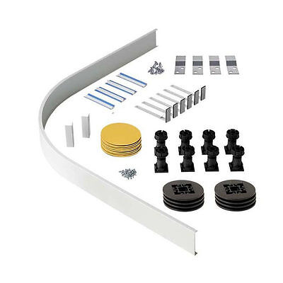 Easy Plumb Riser Panel Leg Kit For Quadrant & Offset Quad Shower Enclosure Trays