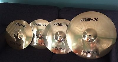 Istanbul MS-X cymbal Pack Brand New