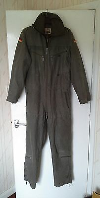 """German Army Tank Suit/Overalls Lined (Genuine) Size Gr.10,  180/190 cm,  38""""."""