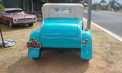 1931 Ford Roadster,V8,All steal,Drives well, left hand drive .Have Import papers