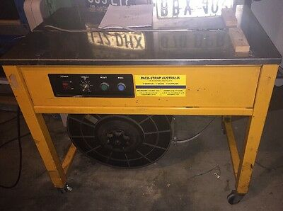 Semi Automatic Strapping Machine Es102A & Extra Strapping