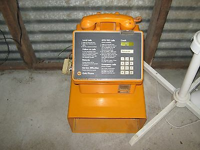 Gold Pay Phone - Telecom - Coin Operated