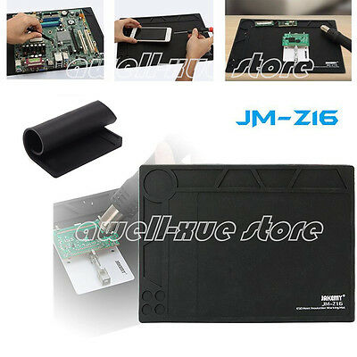 359mmx260mm Desktop Anti Static ESD Grounding Mat Blanket Phone PC Tablet Repair