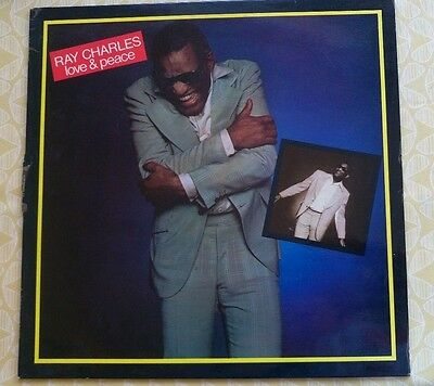RAY CHARLES Love & Peace LP