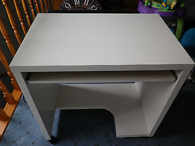 White Ikea Study Desk - suit small room - Sydney
