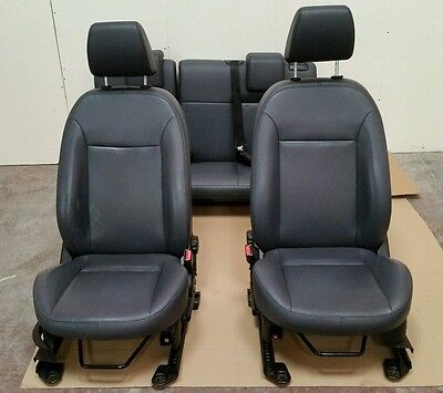 Ford Fiesta Mk6 03-08 5 Door Full Set Leather Seats Front And Rear