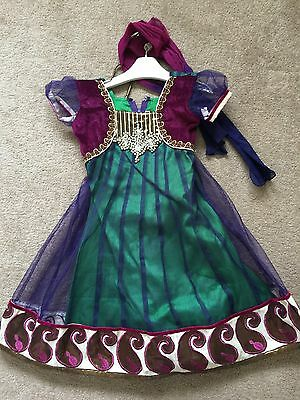Childrens Anarkali Indian Asian Bollywood Style Dress