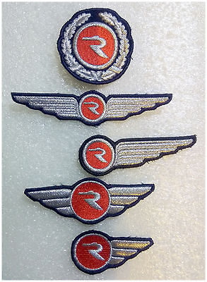 """Russian """"Rossiya"""" Airlines Pilot and Flight Attendant Wings and Hat Badge"""