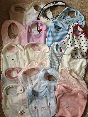 100 High Street Baby Bibs. Variety Of Styles & Sizes. Job Lot. Market Traders.