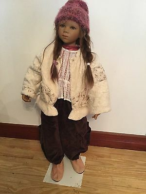 Annette Himstedt - LE collectable doll - INGA - COA - Box & Shipper - Insured