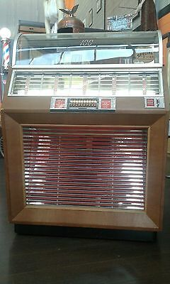 jukebox seeburg m100 1952 vintage