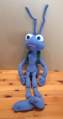 "29"" Flick Bugs Life Soft Talking/vibrates Toy from Disney Pixar Large 2.5 ft tot"