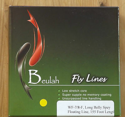 Beulah UK Style 7/8 Long Belly Floating Fly Fishing Line 35% discount