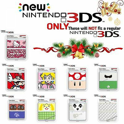 """Multi ✿  NEW NINTENDO 3DS ●● COVER / FACE PLATES SET ●● """"NEW"""" 3DS ONLY! Mario +"""