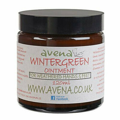 Wintergreen Ointment Pain Relief For Muscle Aches Headache Chest Feet Sports Rub