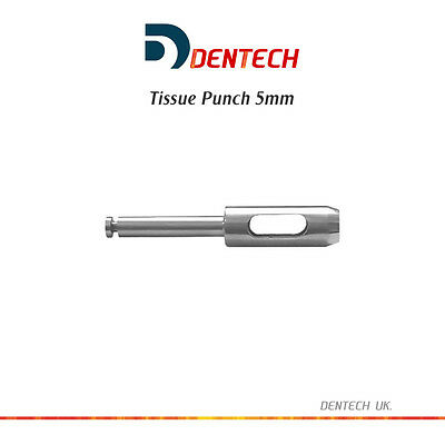 "Tissue Punch 5Mm Dental Instruments Drills Implant - Surgical Tools Lab ""Ce"" New"