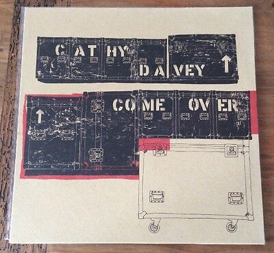 """Cathy Davey - Come Over 12"""" Vinyl Ep - EMI 2004 Never Used Or Played"""