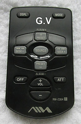Aiwa Rm-Z304 Remote Control Free Post Genuine