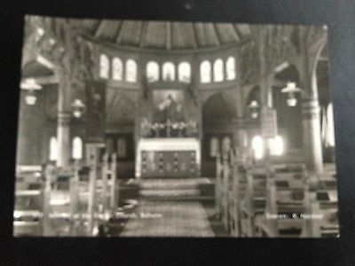 Norway Interior Of The English Church Baholm Real Photograph Postcard
