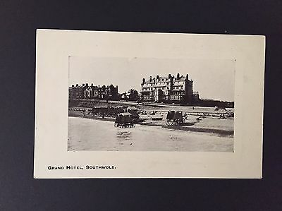 Postcard Of The Grand Hotel Southwold