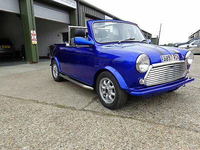 classic mini convertible modified 1985 1000cc dry stored for 12yrs