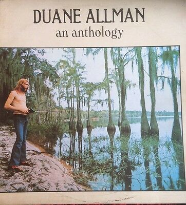 Duane Allman An Anthology Record Lp With Booklet