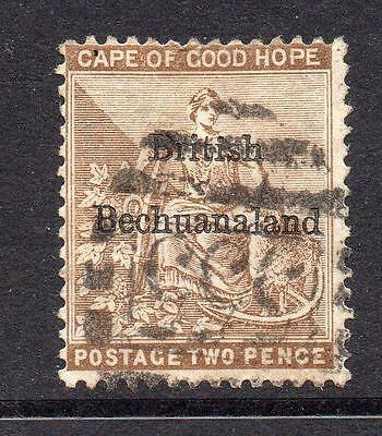 Bechuanaland 2 Pence Stamp c1885-87 Used SG6