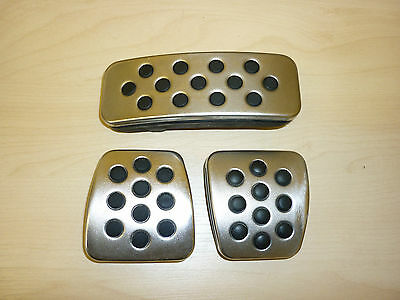 Vauxhall Astra H / Zafira B, Set Of Genuine Alloy And Rubber Pedal Covers.
