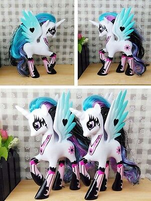 14cm Sun Princess Celestia My Little Pony Doll Action Figure Toy Gift Collect A