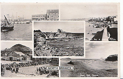 Scotland Postcard - Views of North Berwick   U4499