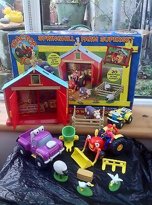 Tractor Tom Springhill Farm Superset Farm Vehicles And Animals Playset - Boxed